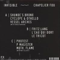 CHAPELIER FOU Invisible Vinyl Record LP Ici D'Ailleurs 2012 Clear Vinyl